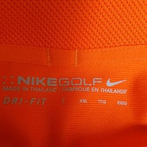 XXL Nike golf shirt. Like new.